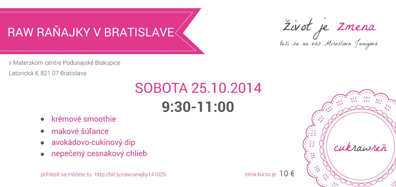 ranajky v Bratislave