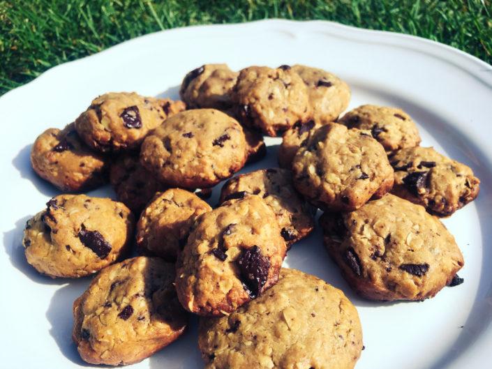 Mini čokoládové cookies bez oleja