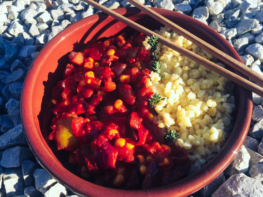 Jednoduché mexické fazule (bez lepku, bez sóje)