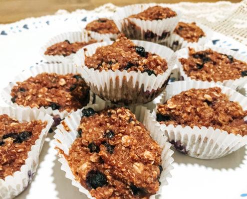 Čuročierkové muffiny s quinou