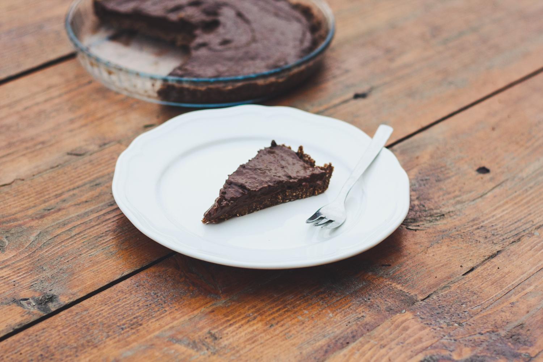 Jemný čokoládovo-tekvicový koláčik
