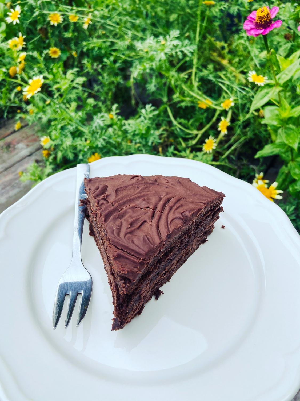 Vegan torta s parížskym krémom (bezlepková)