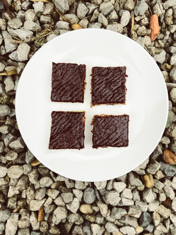 Čokoládový krémeš (vegánsky, bezlepkový, bez tuku)
