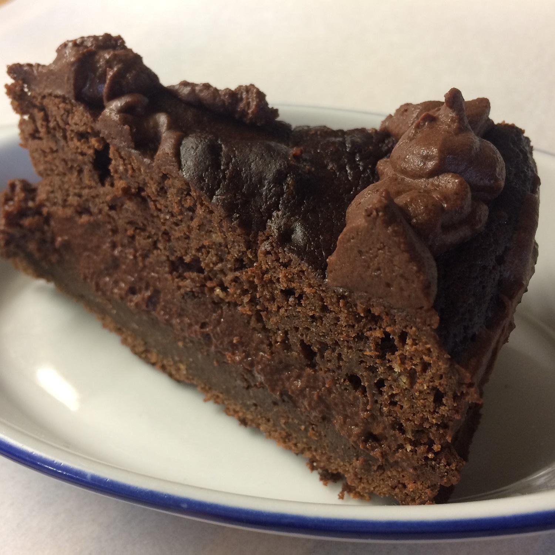 Čokoládová torta s parížskym krémom