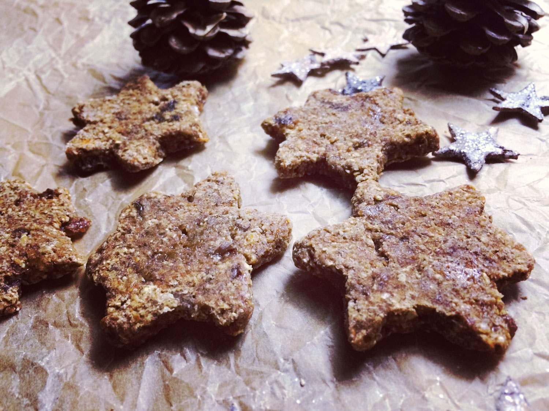 Mrkvové sušené perníčky (bez orechov)