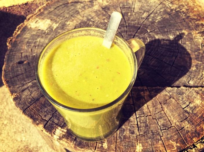 Rýchly zelený koktail (smoothie)