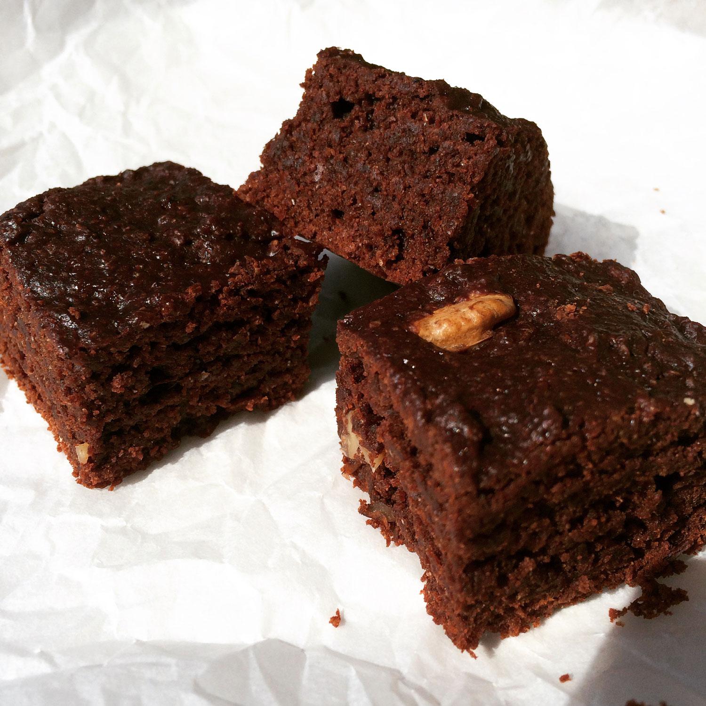 Vegánsky čokoládový brownie